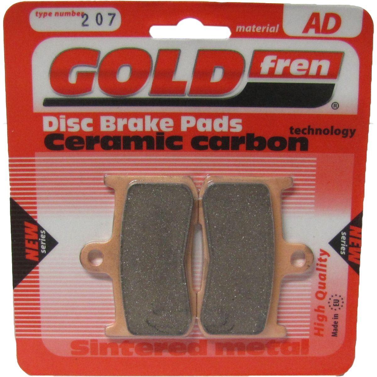 Goldfren AD207, FA347, VD443, SBS782, FDB2158, DP922 Disc Pads (Pair)