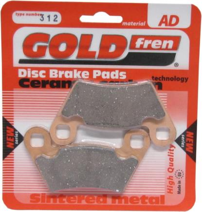 Picture of Goldfren AD312, FA354, FDB2236, SBS800, VD9024 Disc Pads (Pair)