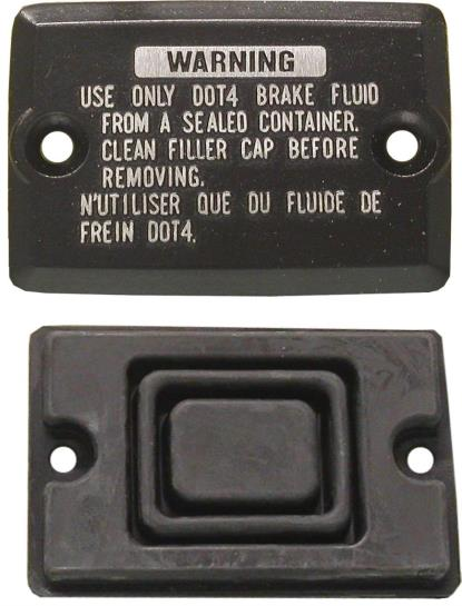 Picture of Master Cylinder Cap Kawasaki 43026-1052 (70mm x 48mm) (54mm) (Set)