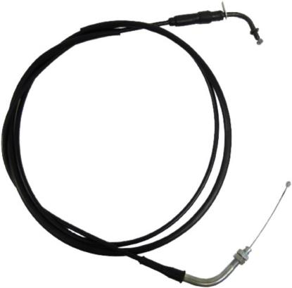 Picture of Throttle Cable Chinese 50cc Scooter Push in top with plate