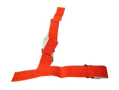 Picture of Sam Browne Belt Medium Red Fluorescent