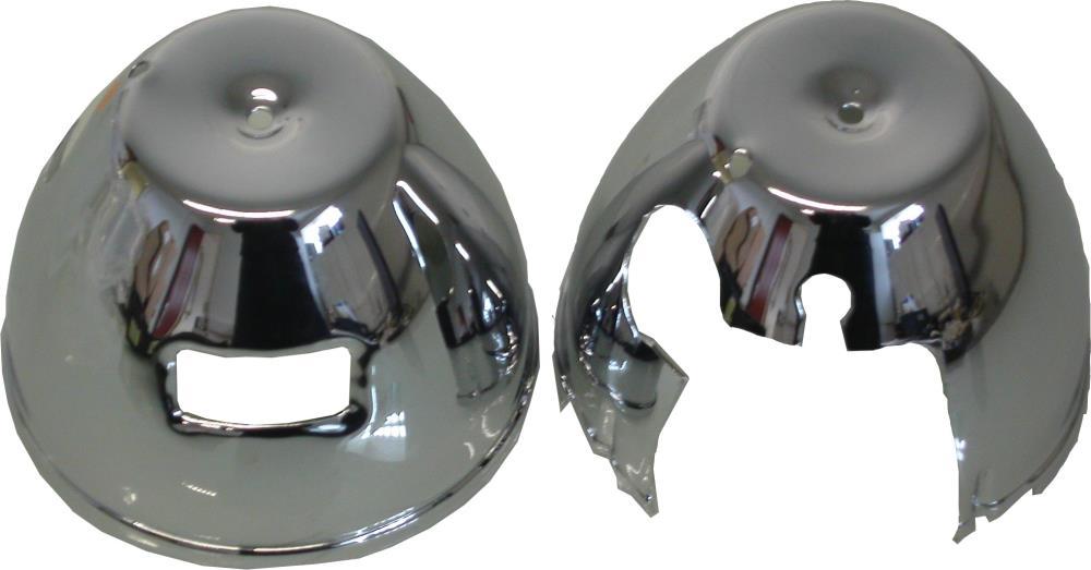 Image Is Loading Speedo Amp Tacho Bottom Clock Covers Chrome Kawasaki