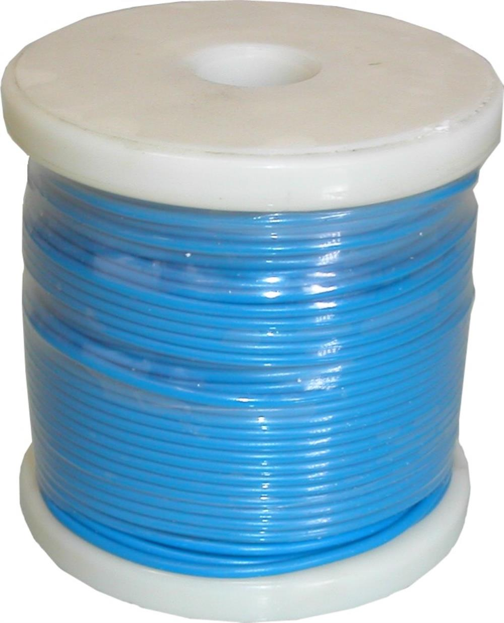 Single Electrical Cable Blue O.D 2.50mm, 9 Strand (50 Mtrs) | eBay