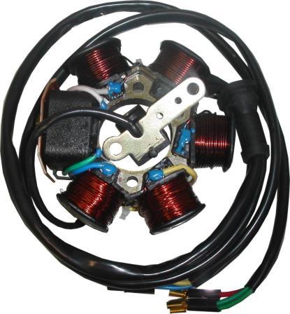 Picture of Generator Piaggio & Gilera 50cc 2T Scooters (8 Wires)