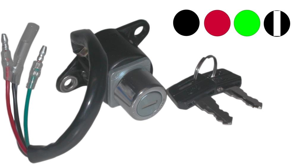 Ignition Switch Honda C50 C70zz 4 Wires Ebay Wire Wiring Image Is Loading