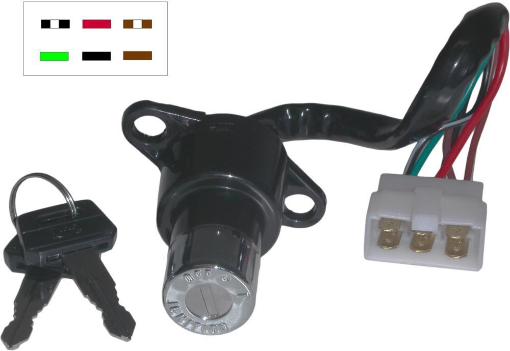 Fabulous Ignition Switch Honda Cb125T Cb250N Cb250Rs 6 Wires Ebay Wiring Database Ilarigelartorg