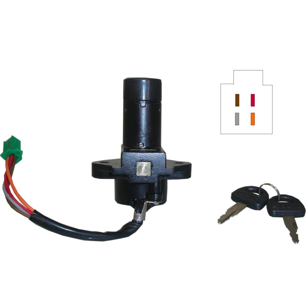 Ignition Switch For 1981 Suzuki Gs 500 Ex Ebay 4 Wire Wiring Image Is Loading