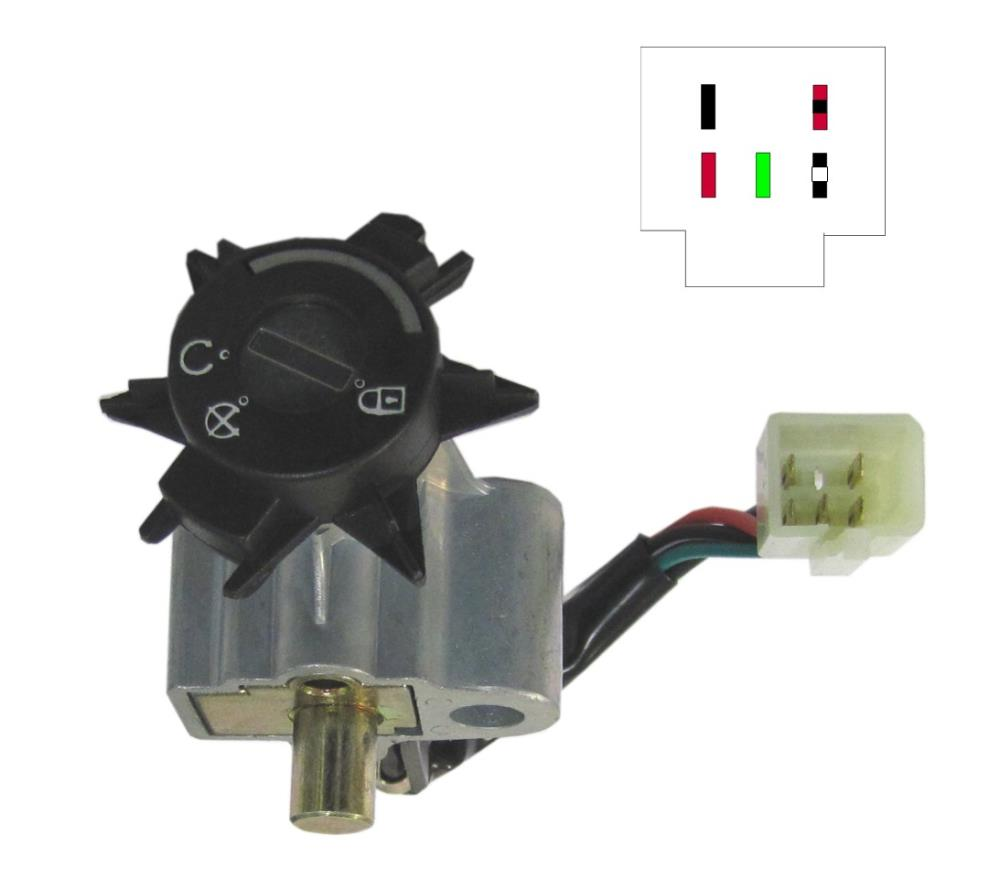 Ignition Switch Peugeot Ludix 50 (5 Wire) | eBay