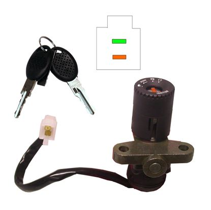 Picture of Ignition Switch Aprilia RS125(2 Wires)