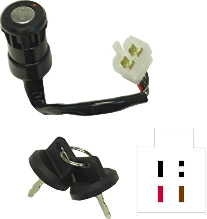 Picture of Ignition Switch Aeon, Eton 4 Wires