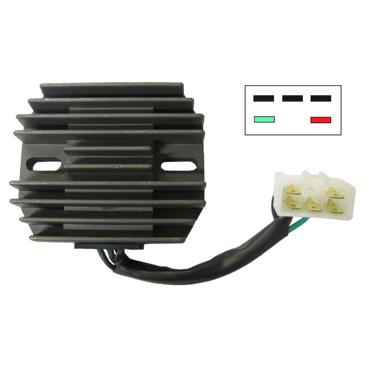 Regulator Rectifier Chinese For 2003 Suzuki Gsx 1300 R K3 Hayabusa Fuse Box Location 1 Of 3free Shipping See More