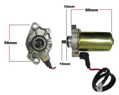 Picture of Starter Motor Aprillia, Derbi, Piaggio, Gilera (10 splines)
