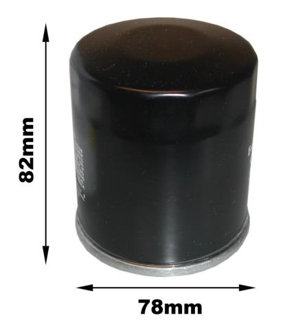 Picture of MF Oil Filter (C) BMW(C301, HF163)