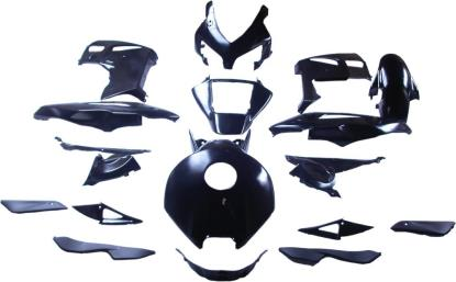 Picture of Fairing Complete Honda CBR1000RR 2004-2005 (Black-17)