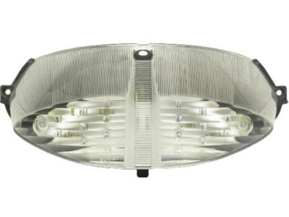 Picture of Complete Taillight Peugeot Speedfight 2 Clear Lens with LED