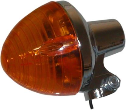 Picture of Complete Indicator Honda C50, C70, C90 Rear Round(Amber)