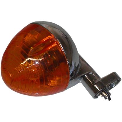 Picture of Complete Indicator Honda C50LAC Rear Round(Amber)
