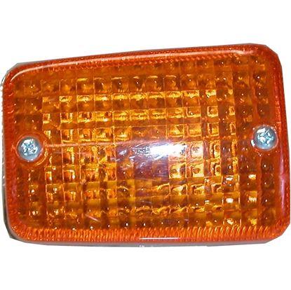 Picture of Complete Indicator Honda C50, C70, C90C Front Left Chrome(Amber)