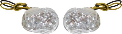 Picture of Complete Indicator LED Flush Mount Fairing Kawasaki(Clear) (Pair)