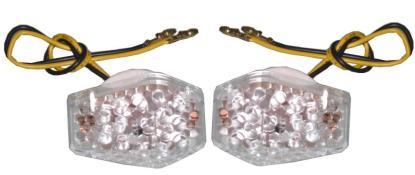 Picture of Complete Indicator LED Flush Mount Fairing Suzuki(Clear) (Pair)