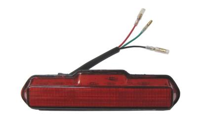 Picture of Complete Taillight LED Red LenBolt-on 150mm Long x 30mm Wide (Pair)