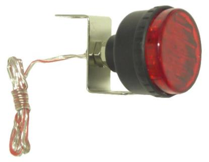 Picture of Marker Light Flashing Red with Single Bolt Fitting OD:45mm