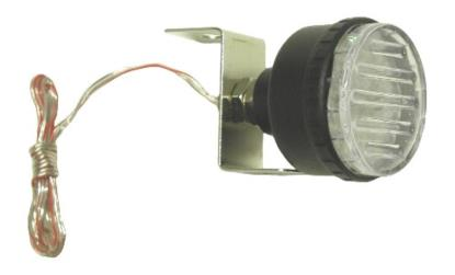 Picture of Marker Light Flashing White with Single Bolt Fitting OD:45mm