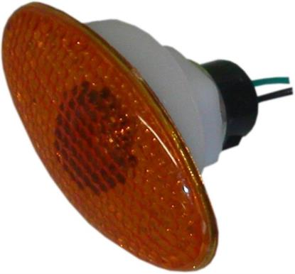 Picture of Complete Indicator Cateye Large with Amber Lens (Pair)