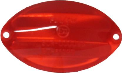 Picture of Rear Light Lens Medium Cateye Red