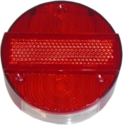 Picture of Rear Light Lens MZ Round 3 Screws