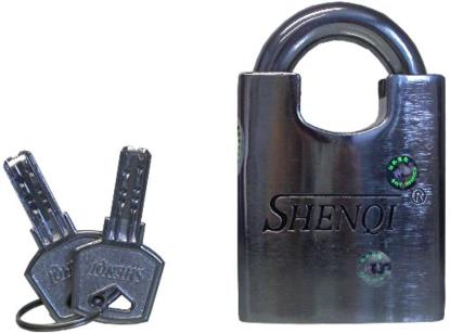 Picture of Locks Six Shenqi Heavy Duty Padlocks with all the same keys (Pack)