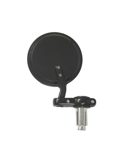 Picture of Mirror Bar End Black Round Right Hand
