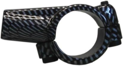 "Picture of Mirror Clamp 10mm Carbon Universal 1"" Handlebar"