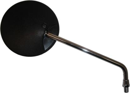 Picture of Mirror 10mm Black Round Left & Right for MZ's 1.50mm