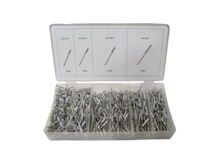 Picture of Rivets Pop Kit 500pc Assortment (Kit)