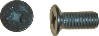 Picture of Screws Countersunk 6mm x 10mm(Pitch 1.00mm) (Per 100)