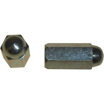 Picture of Nuts Cylinder Long Head 6mm (Pitch 1.00mm) (Per 10)