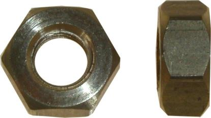 Picture of Nuts Brass 6mm (10mm Spanner)(Pitch 1.00mm) (Per 20)