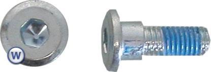Picture of Bolts Disc Allen 8mm x 20mm Honda 8mm Allen, 16mm Diameter (Per 10)