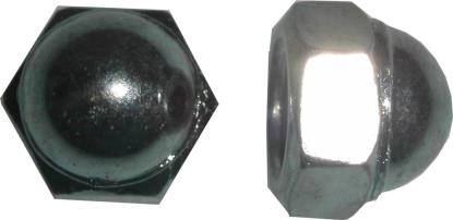 Picture of Nuts Dome 12mm Thread Uses 17mm Spanner (Pitch 1.25mm) (Per 20)