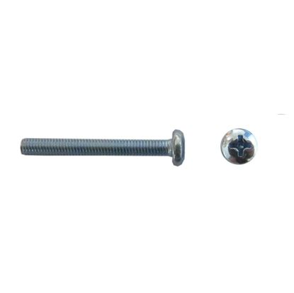 Picture of Screws Large Pan Head 3mm x 30mm(Pitch 0.50mm) (Per 20)