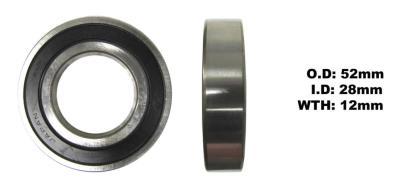 Picture of Bearing Koyo 60/28DDU(I.D 28mm x O.D 52mm x W 12mm)