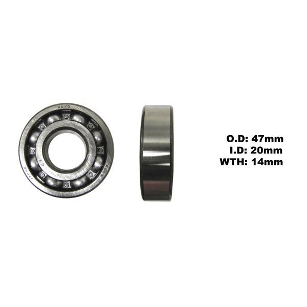 Details about Crank Bearing L/H for 1982 Yamaha RD 80 LC