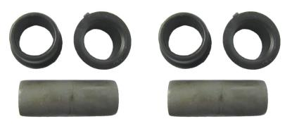 Picture of Swinging Arm Bushs & Sleeves as fitted to Honda's I.D 14mm (Set)