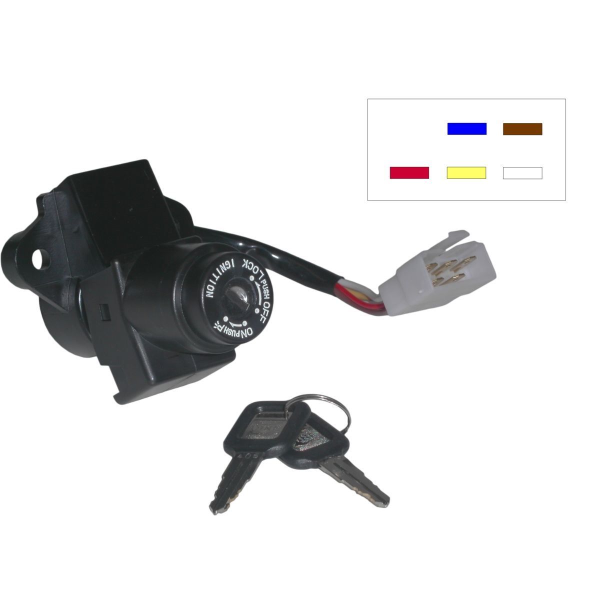 Image is loading Ignition-Switch-for-1982-Kawasaki-K-Z-750-N1-
