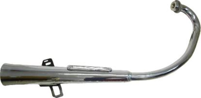 Picture of Exhaust Complete for 1983 Yamaha SR 125 SE (Front & Rear Drum)