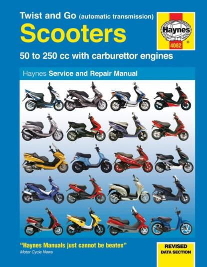 Picture of Haynes Manual  4082 Scooters TWIST & GO 50cc TO 250cc