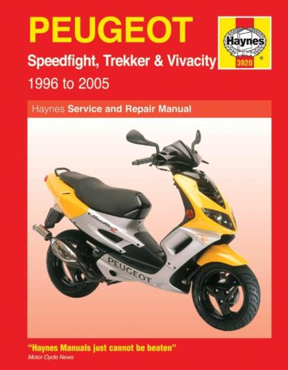 Picture of Haynes Manual  3920 Peugeot SPEEDFIGHT/TREKKER & VIVACity
