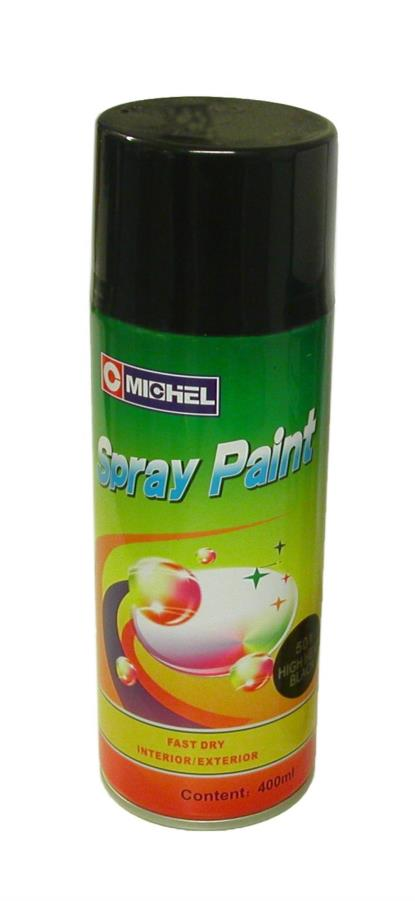 Picture of Michel High Temperature Paint Black Gloss
