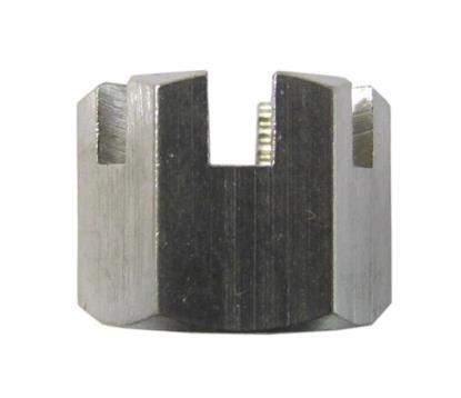 Picture of Nuts Castle Stainless Steel 14mm Thread uses 19mm Spanner (Per 20)